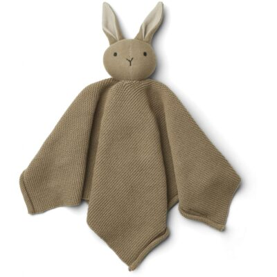 LIEWOOD Knit Cuddle Cloth Milo - Rabbit Oat