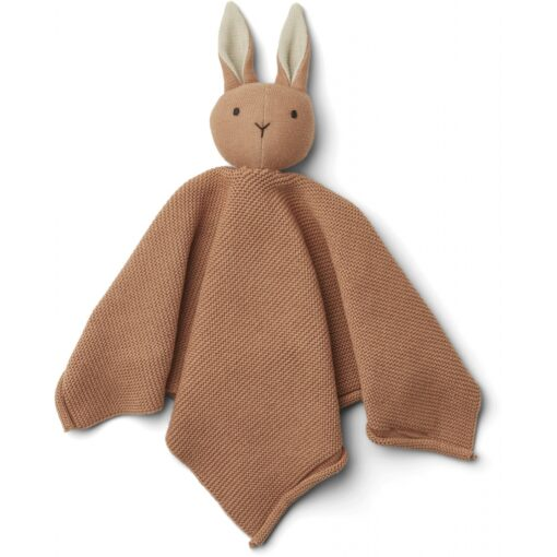 LIEWOOD Knit Cuddle Cloth Milo - Rabbit Tuscany Rose